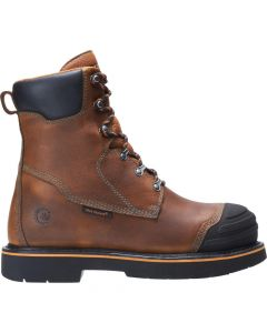 "BOULDER 8"" BRN HIGH HEAT BOOT"
