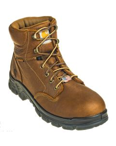 CARHARTT 6 BRN USA WP EH CT SR