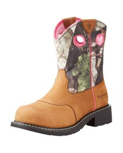 ARIAT PINK\CAMO FAT BABY PULL