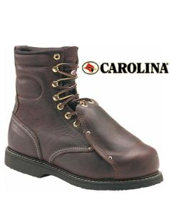 "CAROLINA MET GUARD STEEL TOE HIGH HEAT 8"" WORK BOOT MADE IN USA"