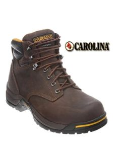 "CAROLINA BRUNO WATERPROOF INSULATED BROAD COMP TOE 6"" WORK BOOT"
