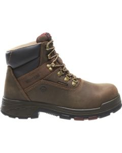 "WOLVERINE CABOR EPX WATERPROOF COMP TOE 6"" WORK BOOT"
