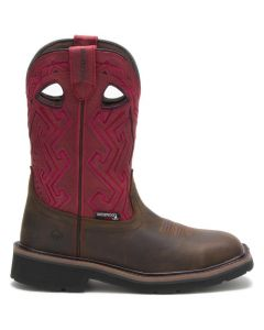 RANCHER WOMENS RED WELLINGTON