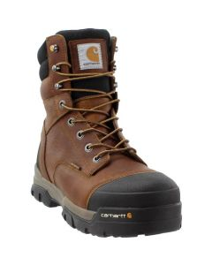"CARHARTT 8"" GROUND FRCE BRN WP"