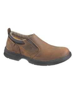 CAT CONCLUDE BROWN SLIP-ON