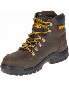 """CAT OUTLINE BROWN 6"""" WORK BOOT"""